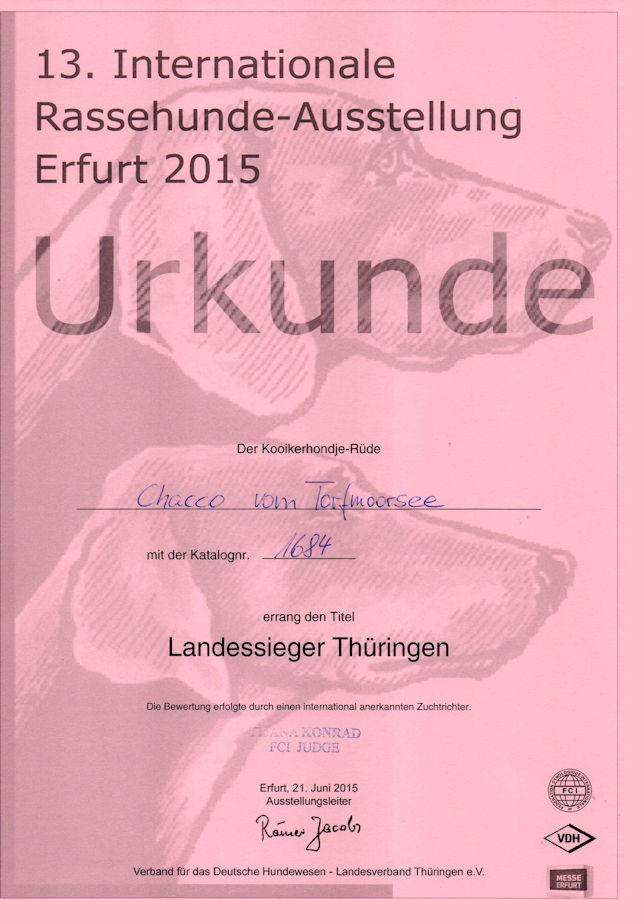 20150621 - Chacco - CACIB Erfurt Landessieger Thüringen - klein